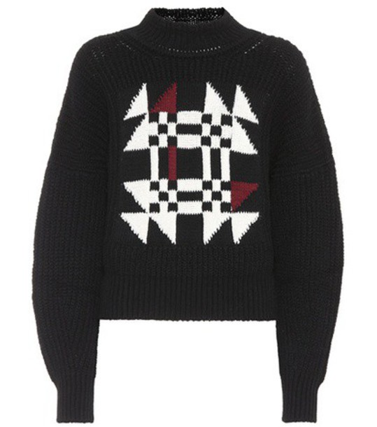 Isabel Marant sweater cotton wool black