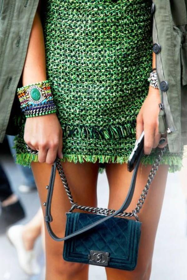 bag chanel classy chanel bag dress