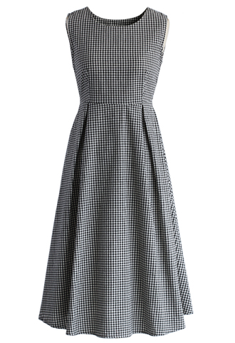dress cutout tartan sleeveless midi dress chicwish cut-out dress sleeveless dress midi dress check dress summer dress