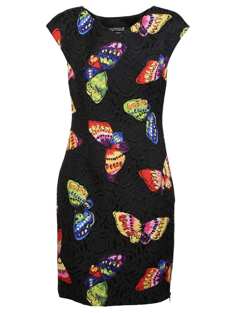 Moschino dress print dress butterfly print
