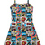 Marvel Comics Skater Dress (Kids) | FOREVER21 girls - 2000070268