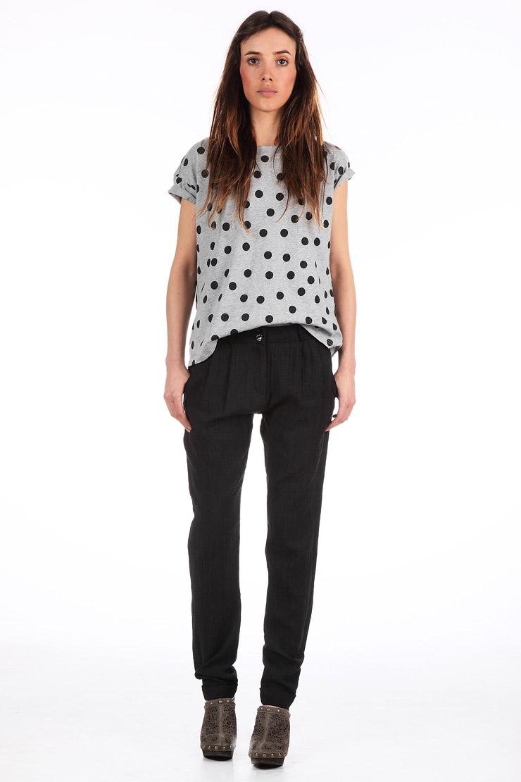 Pantalon eminent noir ba&sh sur monshowroom.com