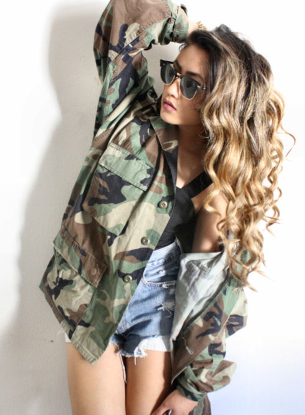 Camo Jacket From Vintage Love Storenvy