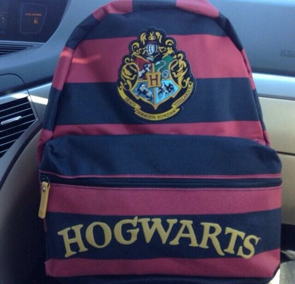harry potter hogwarts bag back back