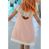 dress,pink,fashion,style,trendy,cute,cool,girly,spring,summer,rose wholesale-ma