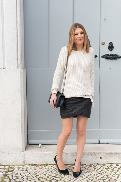 the working girl shorts skirt sweater t-shirt shoes bag jewels