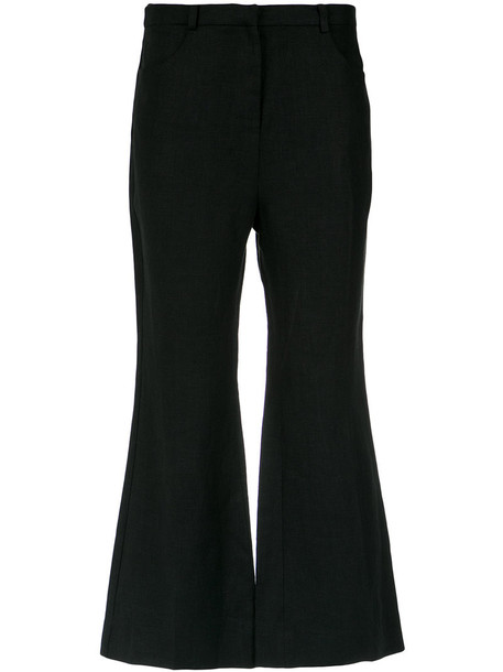 cropped women cotton pants
