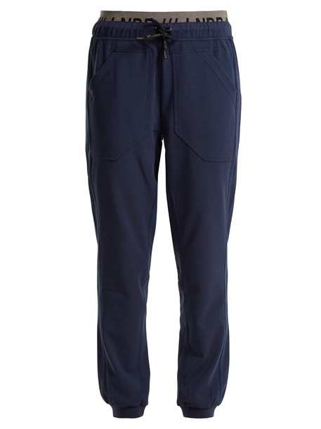 lndr pants track pants navy