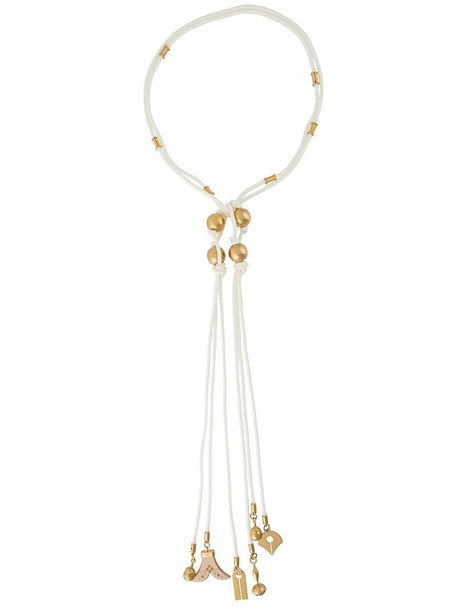 Chloe necklace white jewels
