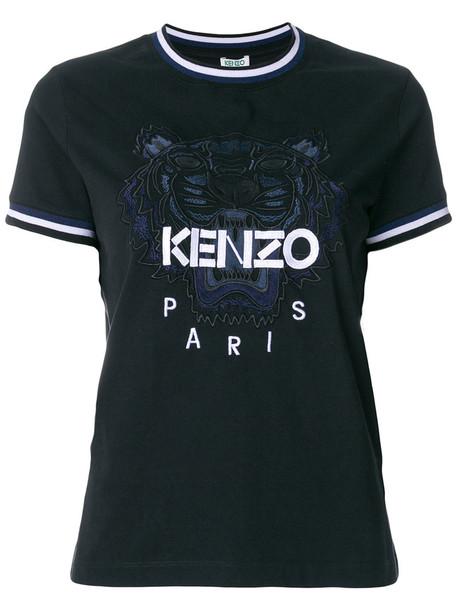 Kenzo - Tiger T-shirt - women - Cotton - L, Black, Cotton
