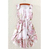 dress,summer,floral,fashion,trendy,spring,cute,girly,rose wholesale-feb