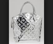 bag,celebrity silver famous lv bag liquid
