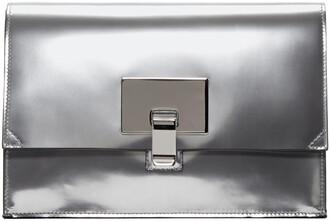 bag clutch silver