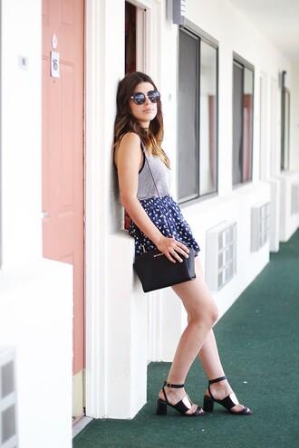 dulceida shirt shorts shoes bag sunglasses
