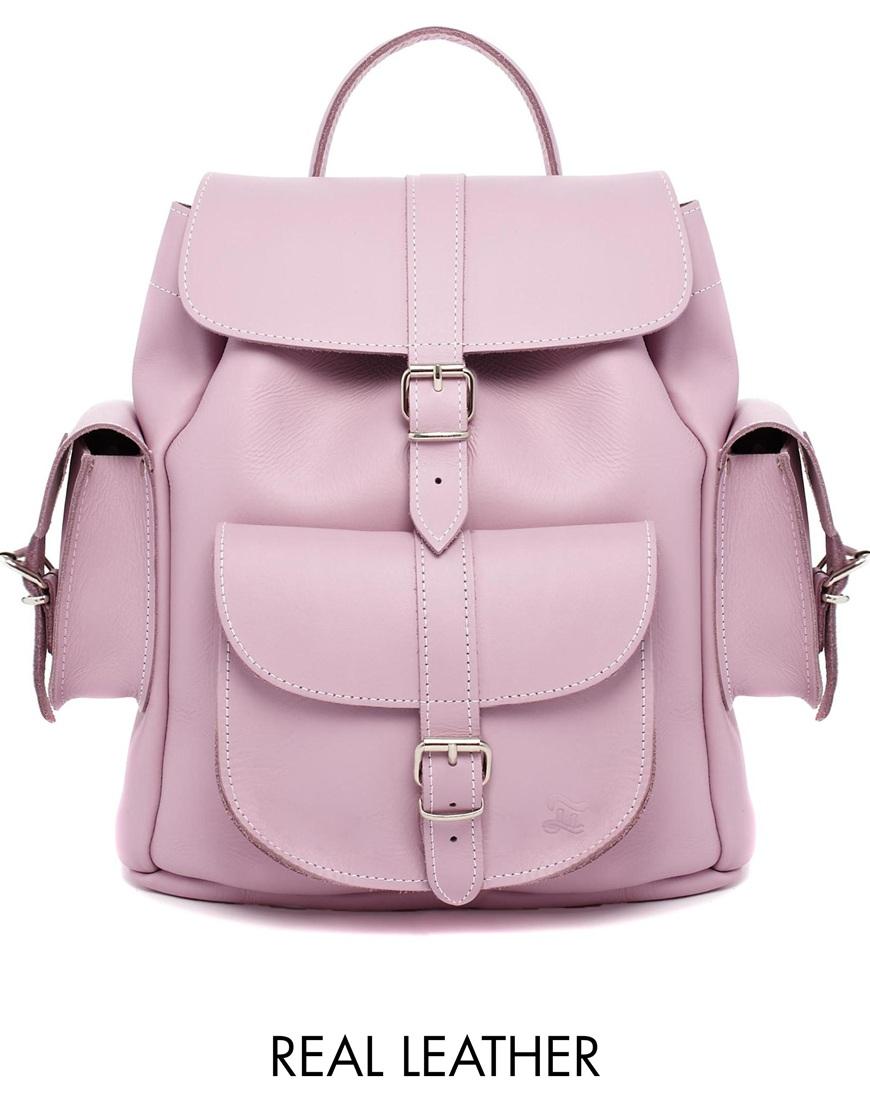 Grafea hari backpack in lilac at asos.com
