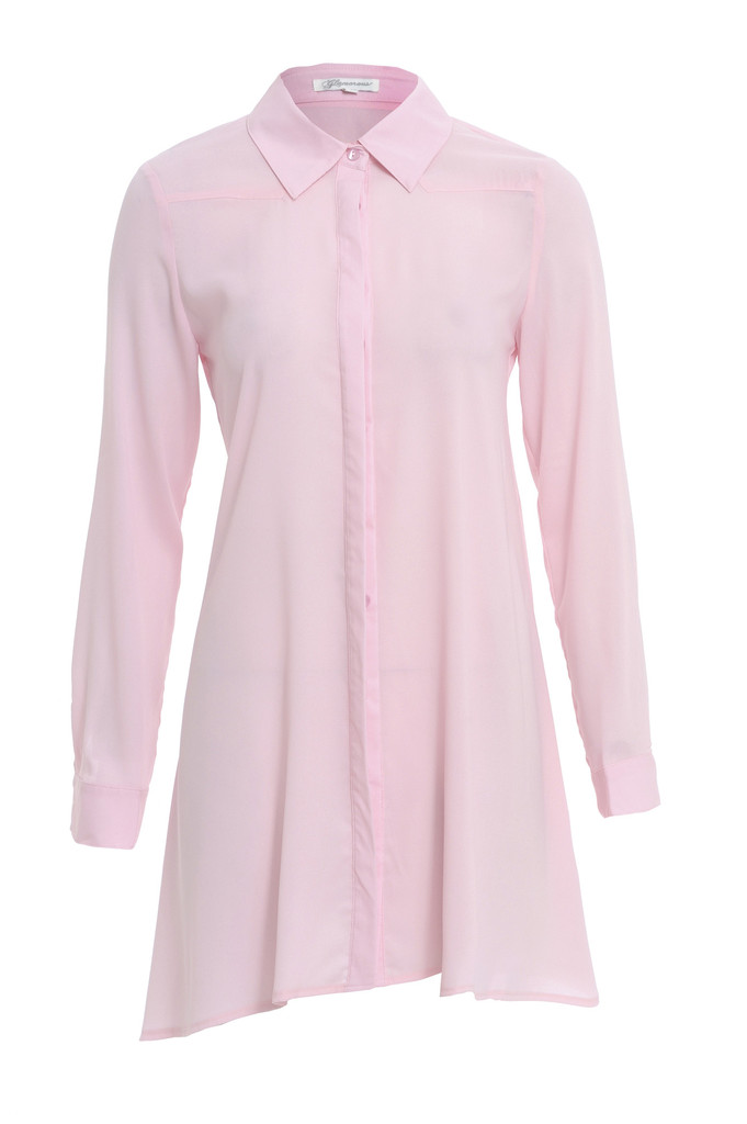 9a6484715837 LIGHT PINK SHIRT DRESS – Fabric Boutique