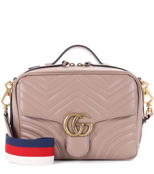 gucci bag shoulder bag leather beige