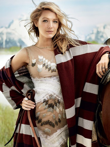 dress blake lively coat