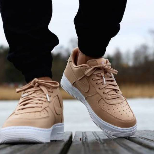 fe9f61382296 Nike LAB Air Force 1 Low Vachetta Tan Mens Casual Shoes Sneakers ...