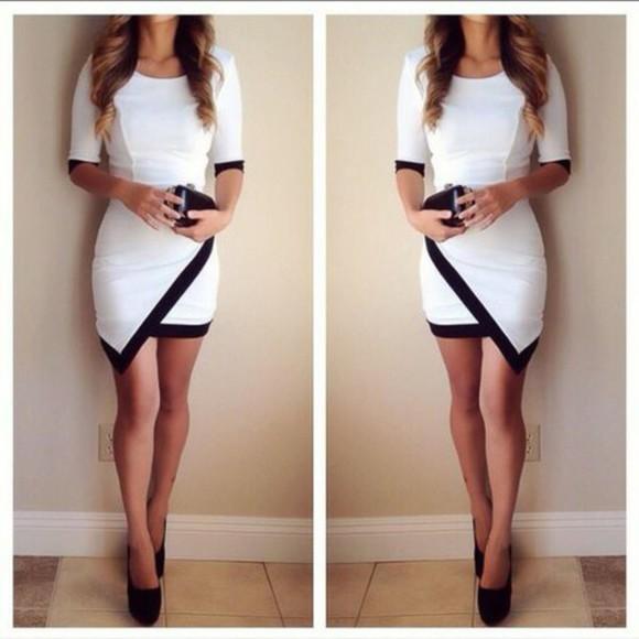 white dress amazing elegant dress black and white white black