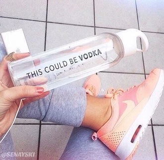 home accessory vodka water drink