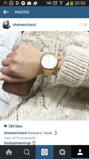 gloves watch
