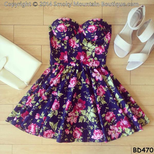 floral dress sexy dress short dress dress bustier dress short party dresses short prom dress