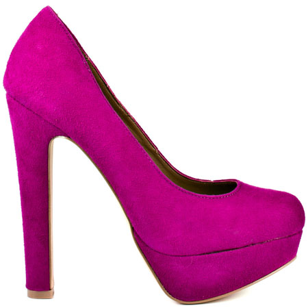 Steve Madden's Purple Beasst - Fuschia Suede for $85.49 direct from heels.com
