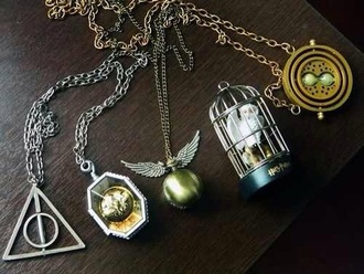 jewels necklace hipster harry potter