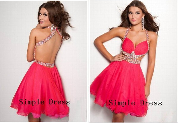 sexy prom dress short party dress short evening dress party dress 2014 party dress evening dress 2014 2014 evening dress short cocktail dress coral dress short dress short prom dress prom dress 2014 prom dress