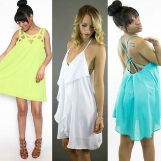 dress love riche shift dress white dress ruffle