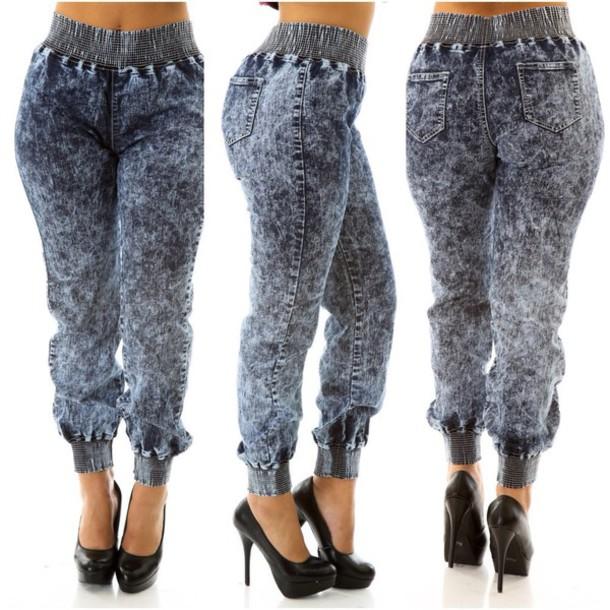 jeans plus size pants