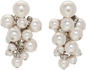 pearl earrings white jewels