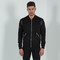 Suede bomber jacket - black