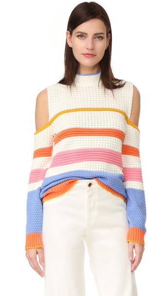 Anna October Striped Sweater - Multi