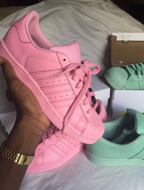 adidas shoes pink and gold. adidas superstar pink and gold shoes