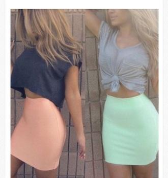 skirt bodycon skirt pencil skirt mini skirt