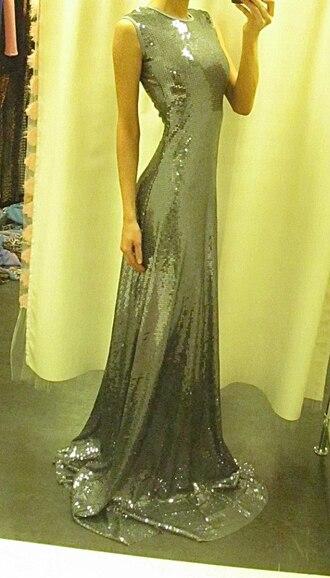 dress silver metallic