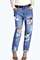 Leah extra baggy drop crotch boyfriend jeans
