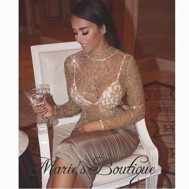 dress maries boutique paysuit romper jumpsuit sequin dress bandage shiny floral lace dress gold dress sequins gold sequins new year's eve nye dress shoes heels party dress romper gold