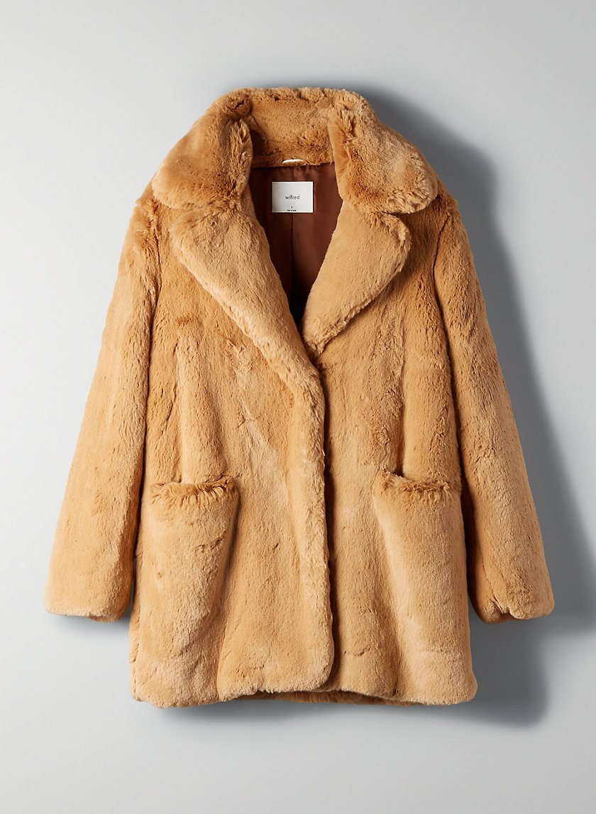 Wilfred Muse Faux Fur Coat