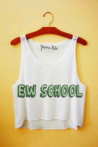 t-shirt shirt top fashion style back to school