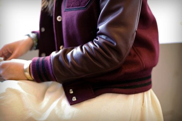 jacket pink bomber teddy veste blouson purple aviateur