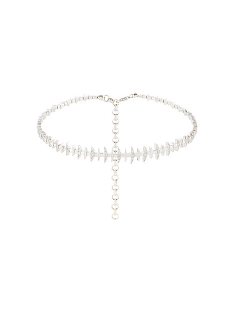 women gold white grey metallic jewels