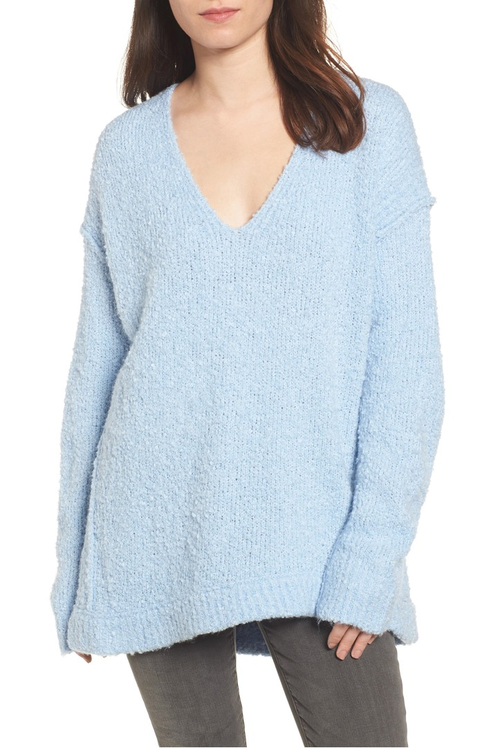 Free People Lofty V Neck Sweater Nordstrom