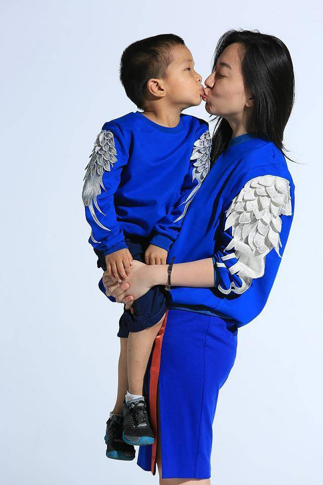 Feather wings embroidered hedging lovers paternity sweater h051 · foreverfashion · online store powered by storenvy