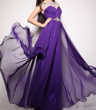 blouse flowing long chiffon prom dresses sheer beaded cap sleeves sweetheart dress a line skirt vienna prom dress keyhole back prom dresses sexy dress purple dress a line dress a line prom gowns