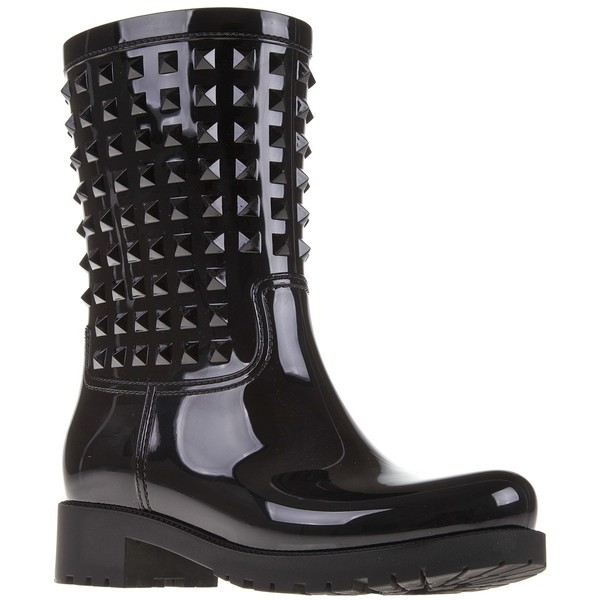 Valentino garavani studded rain boot