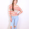 Slouchy open knit sweater – sirenlondon