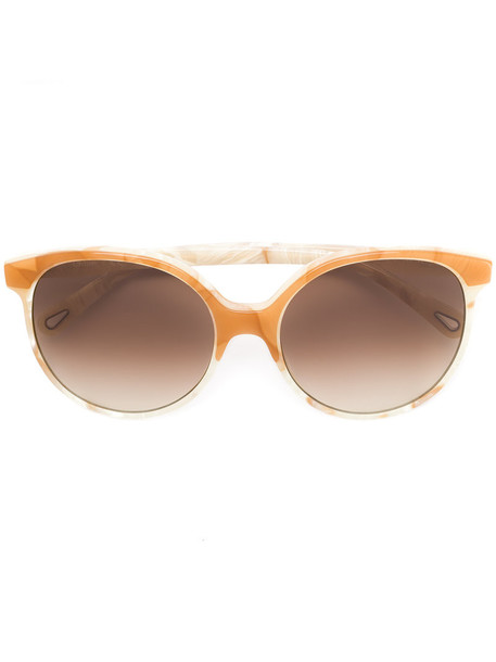 Chloe Eyewear metal women sunglasses nude